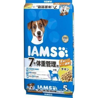 マースジャパンリミテッド アイムス 7歳以上用 体重管理用 チキン 小粒 5kg E519599H