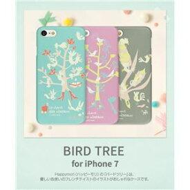 その他 Happymori iPhone7 Bird Tree パープル ds-1941702