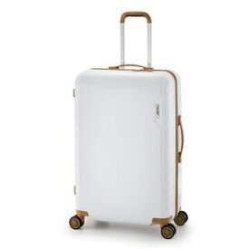 c36923b7c5 その他 スーツケース/キャリーバッグ 【ホワイト】 90L 手荷物預け無料最大サイズ ダイヤル