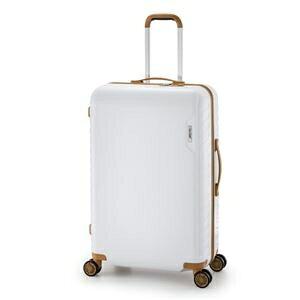その他 スーツケース/キャリーバッグ 【ホワイト】 90L 手荷物預け無料最大サイズ ダイヤル式 アジア・ラゲージ 『MAX SMART』 ds-1950585