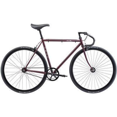FUJI 2018年モデル フェザー(FEATHER) 58cm シングル ディープパープル ロードバイク 18FETRPR58【納期目安:納期未定】