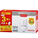 三菱ケミカル・クリンスイ 【お買得パック!】除去物質数13+2 MONOシリーズ交換カートリッジ(3個入) MDC01SZ
