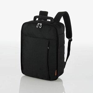 エレコム エレコム バックパック ビジネスバッグ 2WAY(リュック/手提げ) 撥水 軽量 メンズ/レディース 収納サイズ(A4 13.5/14/15/15.4/15.6インチ MacBook Pro 15) ブラック(黒) BM-SN02BK BM-SN02BK