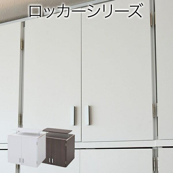 JKプラン ロッカー シリーズ 上置き 棚 ラック 単品 幅60 天井 つっぱり 収納 クローゼット 衣類収納 服 洋服 衣類 天袋 棚 上棚 アイデア 収納術 一人暮らし (ホワイト) FRM-3004-WH