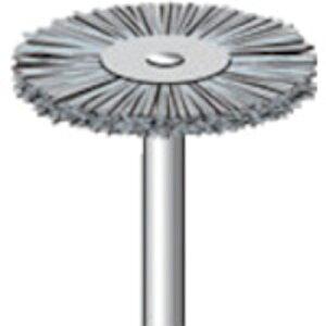 トラスコ中山 ナカニシ ダイヤ入りナイロンブラシ #400 外径23×軸径3×軸長44 51017