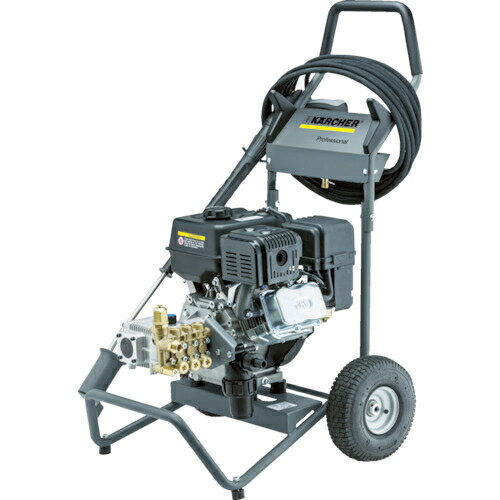 トラスコ中山 ケルヒャー 業務用エンジン式冷水高圧洗浄機 HD6/12G HD612G