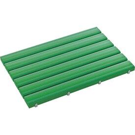 トラスコ中山 テラモト 抗菌安全スノコ 600×860mm 緑 組立品 MR0933401