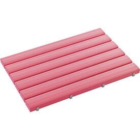 トラスコ中山 テラモト 抗菌安全スノコ 600×860mm ピンク 組立品 MR0933405