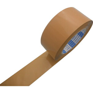 トラスコ中山 【5個セット】日東電工CS 包装用OPP粘着テープ EZダンプロン No.3303EZ 50mm×100m 段ボール色 tr-8365365