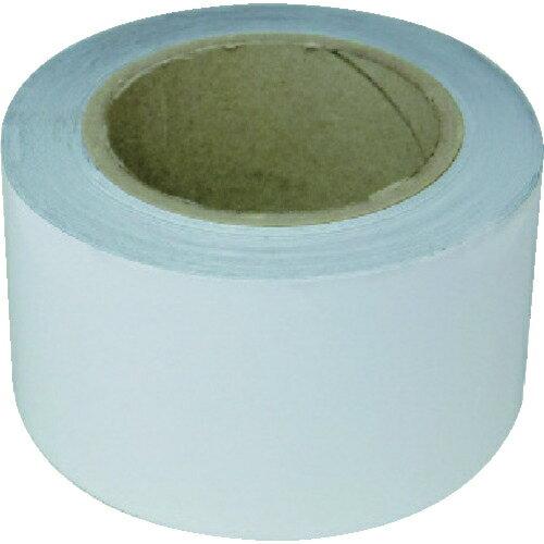 トラスコ中山 新富士 業務用超強力ラインテープ 白(幅70MM×長さ20M) RM607