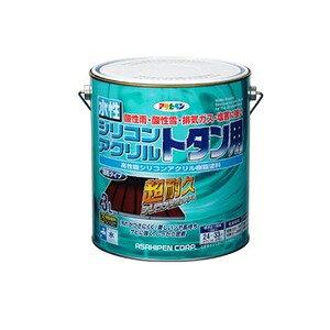 その他 水性シリコンアクリルトタン用 グレー 3L ds-1854580