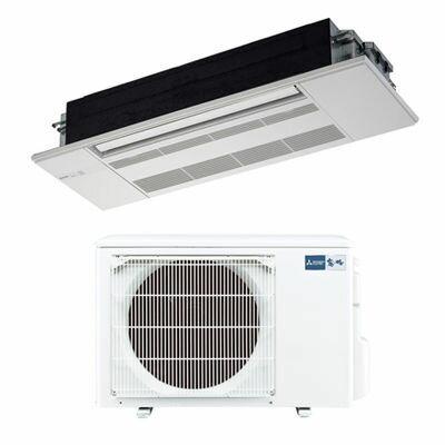 三菱電機 シングルエアコン1方向天井カセット形 GXシリーズ(ホワイトパネル付)(主に12畳) MLZ-GX3617AS-W