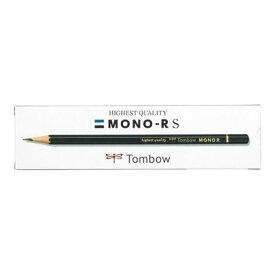 トンボ鉛筆 トンボ 鉛筆モノ RS 4B 紙箱 MONO-RS4B 12本入 4901991017373【納期目安:2週間】