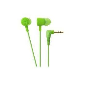 その他 (まとめ) Audio-Technica オーディオテクニカ インナーイヤーヘッドホン 「dip neon color」 (グリーン) ATH-CKL220-GR 【×5セット】 ds-2105643