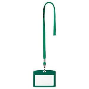 その他 (まとめ) オープン工業 吊下げ名札 レザー調ヨコ名刺サイズ 緑 N-123P-GN 1個 【×10セット】 ds-2115303