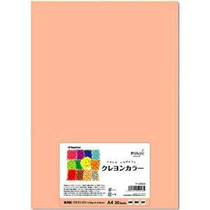 その他 (まとめ) 長門屋商店 いろいろ色画用紙クレヨンカラー A4 うすだいだい ナ-CR013 1パック(20枚) 【×10セット】 ds-2116786