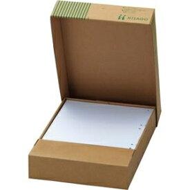 その他 (まとめ)TANOSEEマルチプリンタ帳票(FSC森林認証紙) A4白紙 ヨコ4面 1箱(500枚) 【×2セット】 ds-2124285