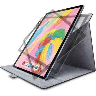エレコム iPad Pro 12.9インチ 2018年モデル/フラップカバー/ソフトレザー/360度回転/ブラック TB-A18L360BK