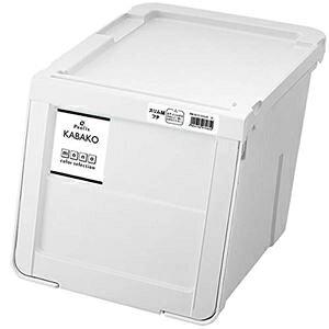 その他 収納ボックス/収納ケース 【ホワイト スリムMサイズ】 幅30cm 日本製 スタッキング可 フタ付き 『天馬 プロフィックス カバコ』 ds-2166371