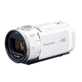 パナソニック デジタル4Kビデオカメラ ピュアホワイト HC-VZX2M-W【納期目安:2週間】
