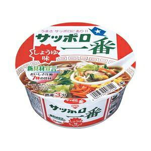 その他 【まとめ買い】サンヨー食品 サッポロ一番 どんぶり しょうゆ 1箱(80g×12個) ds-1100450