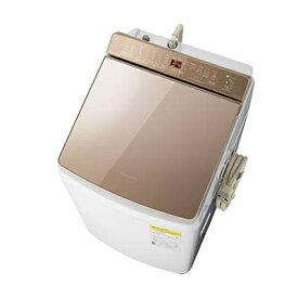 パナソニック 「液体洗剤・柔軟剤 自動投入」 洗濯乾燥機 (洗濯・脱水容量9kg/乾燥容量4.5kg) (ブラウン) NA-FW90K7-T