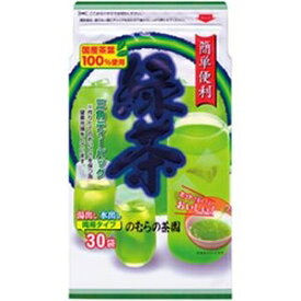 その他 (まとめ)のむらの茶園 緑茶ティーバッグ【×20セット】 ds-2182240