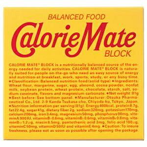 その他 (まとめ)大塚製薬 カロリーメイト ブロック チョコレート味【×20セット】 ds-2182463