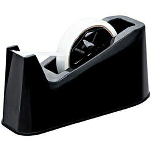 その他 (まとめ)オフィスデポ オリジナル テープカッター 黒 1個【×10セット】 ds-2184434