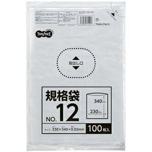 その他 (まとめ) TANOSEE 規格袋 12号0.02×230×340mm 1セット(1000枚:100枚×10パック) 【×10セット】 ds-2234733