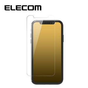 エレコム 【メール便での発送商品】iPhone11Pro XS X ガラスフィルム 耐衝撃 PM-A19BFLGT