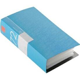 その他 (まとめ) バッファローCD&DVDファイルケース ブックタイプ 72枚収納 ブルー BSCD01F72BL 1個 【×10セット】 ds-2224423