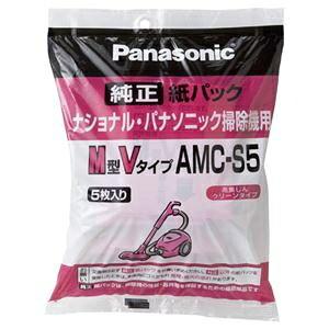 その他 (まとめ) パナソニック 交換用紙パックM型Vタイプ AMC-S5 1パック(5枚) 【×10セット】 ds-2225074