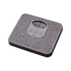 その他 (まとめ) 体重計/ヘルスメーター 【アナログ】 コンパクト 電池交換不要 点調節つまみ付き ストーンホワイト 【×6個セット】 ds-2247322