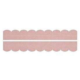 その他 (まとめ) 便器すきまテープ/トイレ用品 【2枚入り ピンク】 カット可 簡単貼り付け・着脱 洗える 汚れ防止 【×200個セット】 ds-2247660