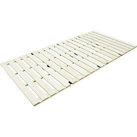 その他 すのこベッド 桐 すのこマット 折りたたみ 4つ折りタイプ シングル(幅100cm) 4521858109173