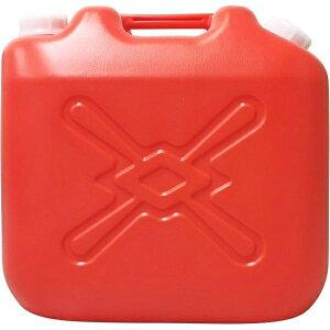 北陸土井工業 灯油缶 赤 20L ポリタンク 4977767221244
