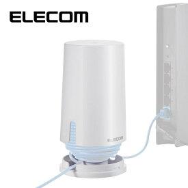 エレコム LANケーブル収納シリンダー/ホワイト EKC-CLD001WH