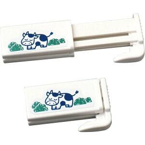 レック 【60個セット】牛乳パック用 キャップ K-533 (紙パック ホルダー クリップ)【沖縄・離島配達不可】 4903320833388-60