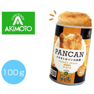 その他 【72個セット】パンの缶詰(多言語版)オレンジ100g 2475234