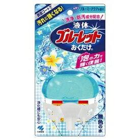 その他 (まとめ)小林製薬 液体ブルーレットおくだけ清潔なブルーミーアクアの香り 本体 70ml 1個【×10セット】 ds-2300746
