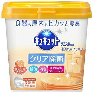 その他 (まとめ)花王 食器洗い乾燥機専用キュキュットクエン酸効果 オレンジオイル配合 本体 680g 1個【×10セット】 ds-2300999