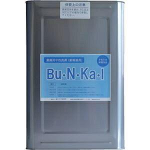 その他 ヤナギ研究所 鉱物油用中性洗剤Bu・N・Ka・I 18L缶 BU-10-K 1缶 ds-2292913