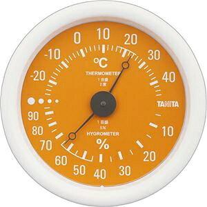 その他 (まとめ)タニタ アナログ温湿度計 オレンジTT-515-OR 1個【×5セット】 ds-2297824