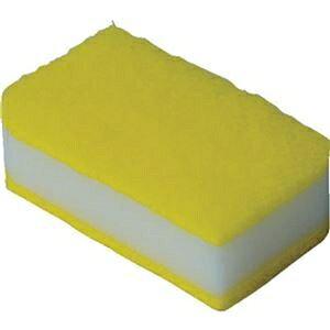 その他 (まとめ)TRUSCO 抗菌ソフトスポンジ イエロー KSS-Y-10 1袋(10個)【×10セット】 ds-2307987