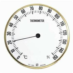 その他 クレセル 日本製 乾式 サウナ用温度計 壁掛け用 SA-300 ds-2320999