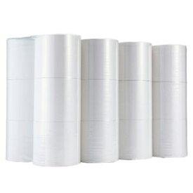 その他 (まとめ)TANOSEE トイレットペーパーシングル 芯なし 250m 1ケース(24ロール:6ロール×4パック)【×2セット】 ds-2296039