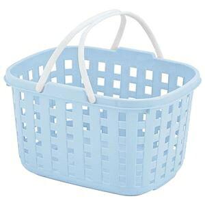 その他 不動技研 スタッキングバスケット ブルー F24211 (洗濯かご おもちゃ 収納 カゴ 持ち手 付き) ds-2336790