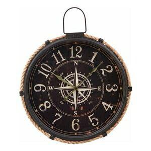 その他 掛時計 コンパス Φ47cm ブラック ds-2338377