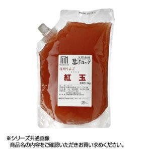 その他 かき氷生シロップ 信州りんご紅玉 業務用 1kg 3パックセット CMLF-1619428
